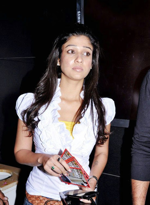nayanatara in white dress actress pics
