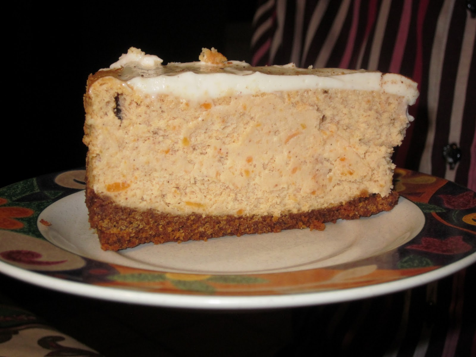 ... with Flour: Maple Sweet Potato Cheesecake ~ Happy Thanksgiving