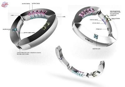 GELECEĞİN CEP TELEFONLARI Bracelet-phone-2