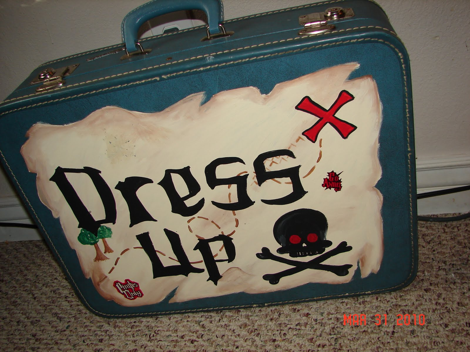 thrift store take 3 boy dress up clothes suitcase a and a