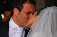 foto matrimonio bacio