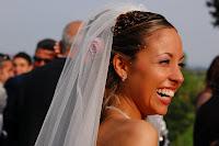 foto sposa sorriso
