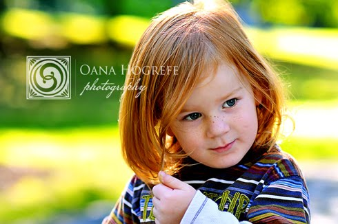 redhead portraits toddler atlanta