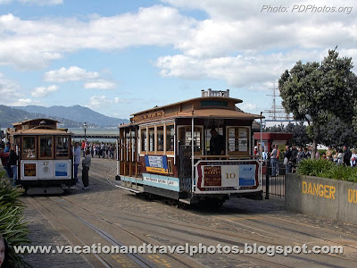 Trolley Car, San Francisco, California, USA