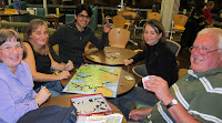 Attendees at the Imagination Gaming event at Sheffield University playing TransEuropa