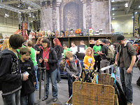 Essen Spiel 2010 - Day 2 The LARP area of the show