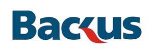 logo backus: