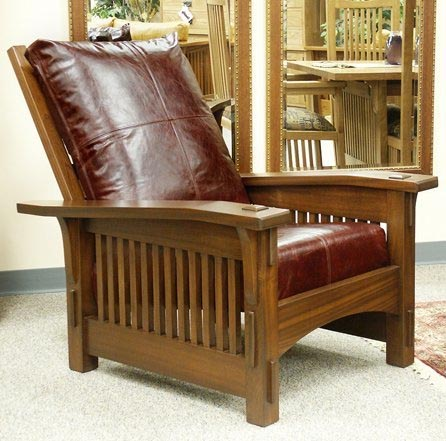 Proposed classic Stickley leather chairs & healthy home design: residential spaces islam-shia.org