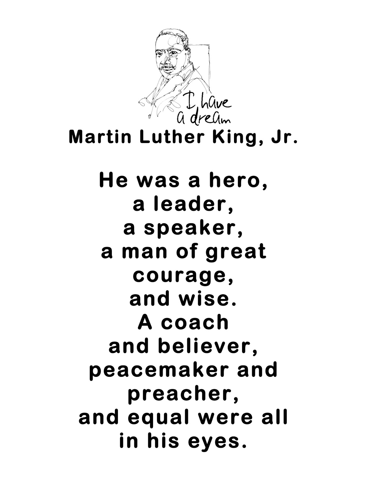 Just 4 Teachers Sharing Across Borders Martin Luther King Jr
