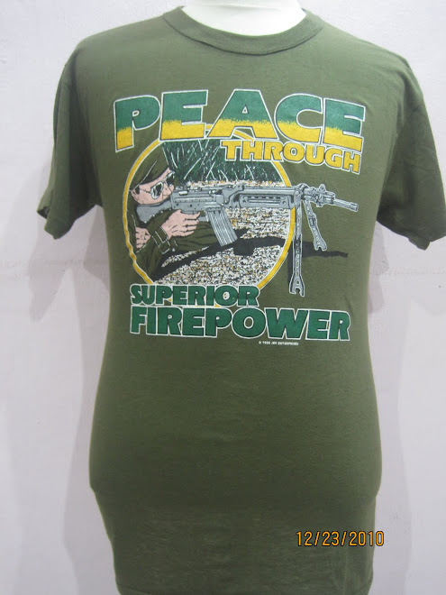 VINTAGE PEACE THROUGH 1986