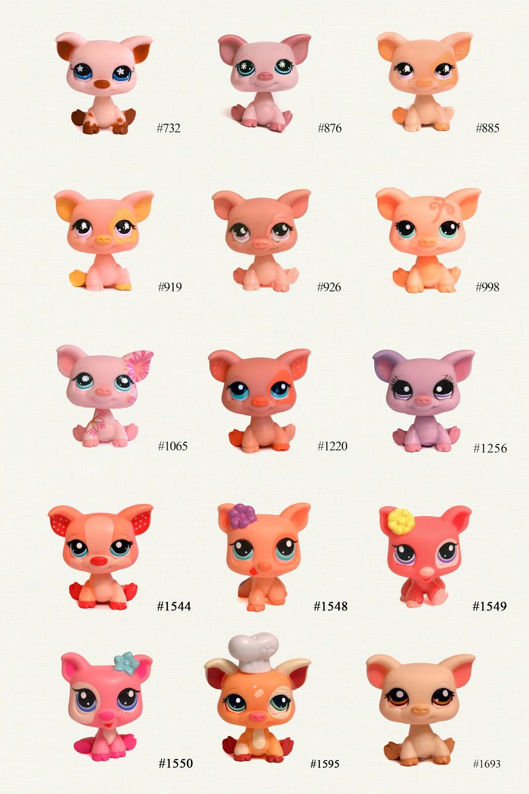 Nicole`s LPS blog - Littlest Pet Shop: Pets: Pig