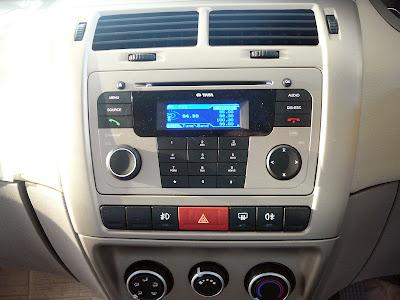 Tata Manza Stereo Image