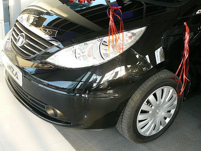 Tata Manza Wheels Image