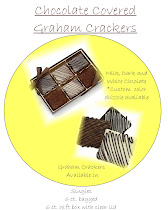 Chocolate dipped GrahamCrackers