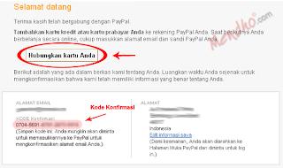 Konfirmasi alamat email - Image by MeNDHo.com