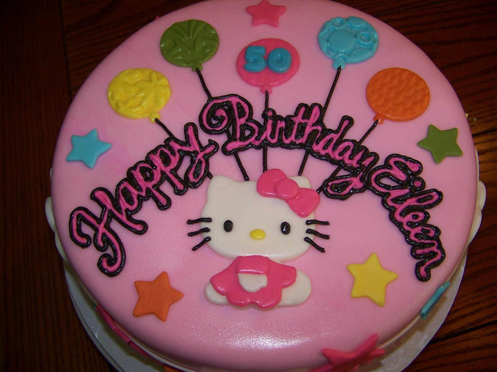 Plumeria Cake Studio Hello Kitty Birthday Cake