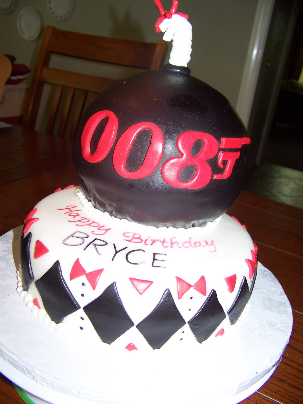 Plumeria Cake Studio Spy Themed Birthday Cake