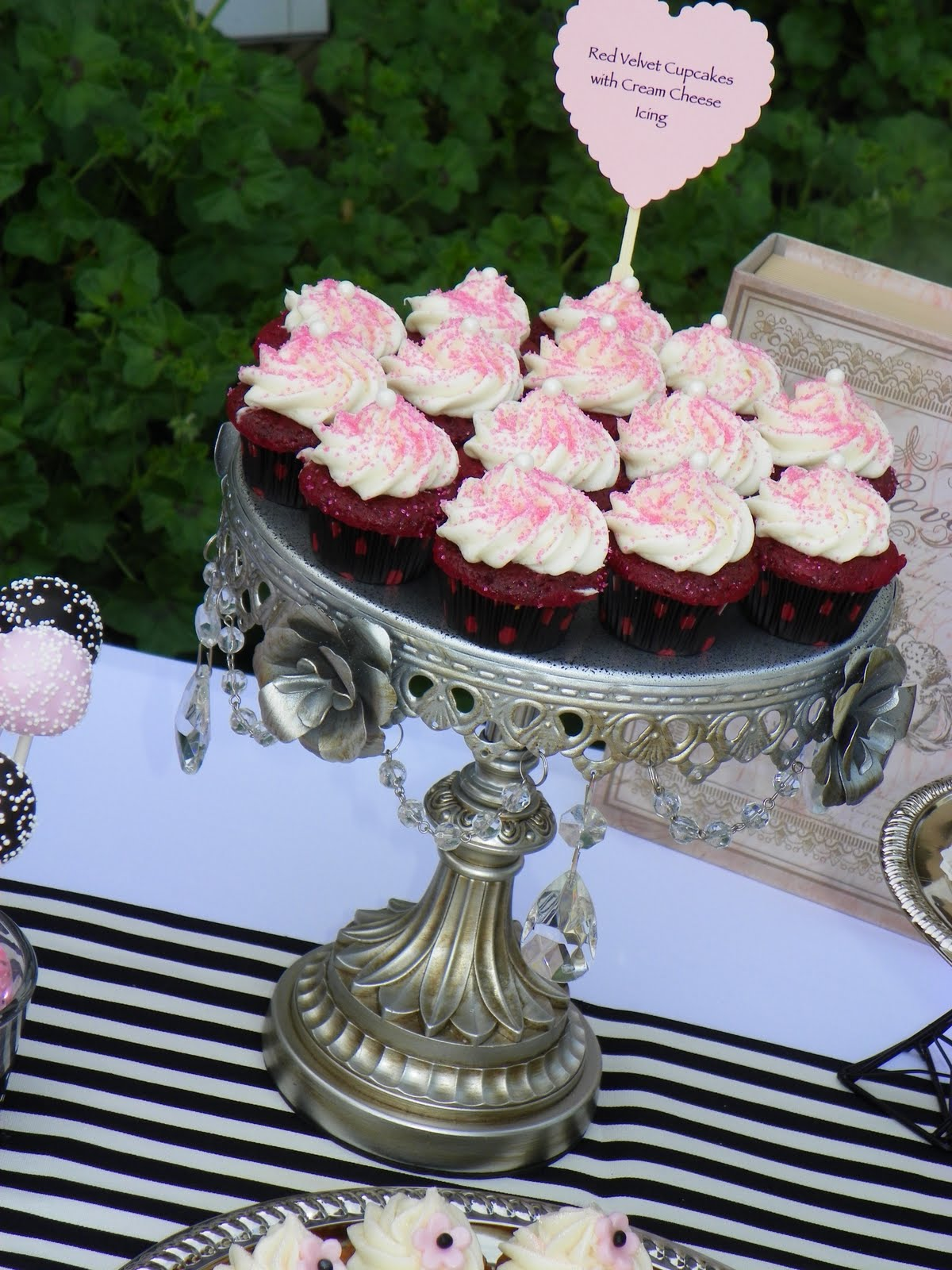 Plumeria Cake Studio Bridal Shower Dessert Buffet