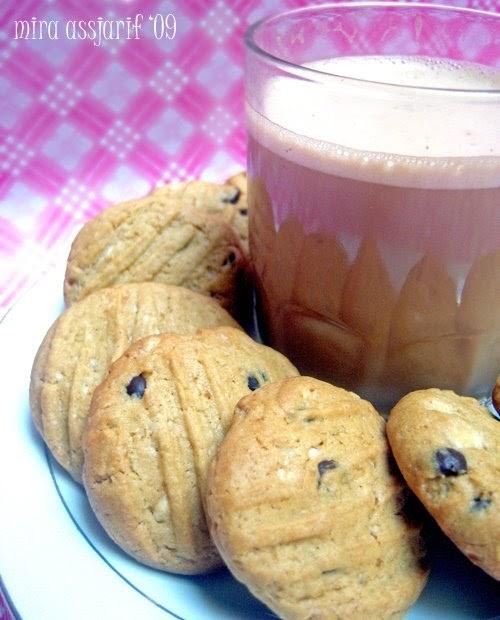 Dapur Ipoek: White Chocolate Coffee Cookies
