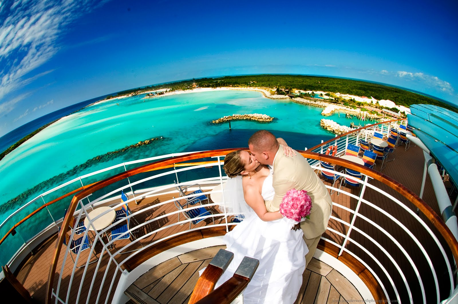 karen daniels wedding disney wonder cruise wedding photography - Cruise Ship Photographer