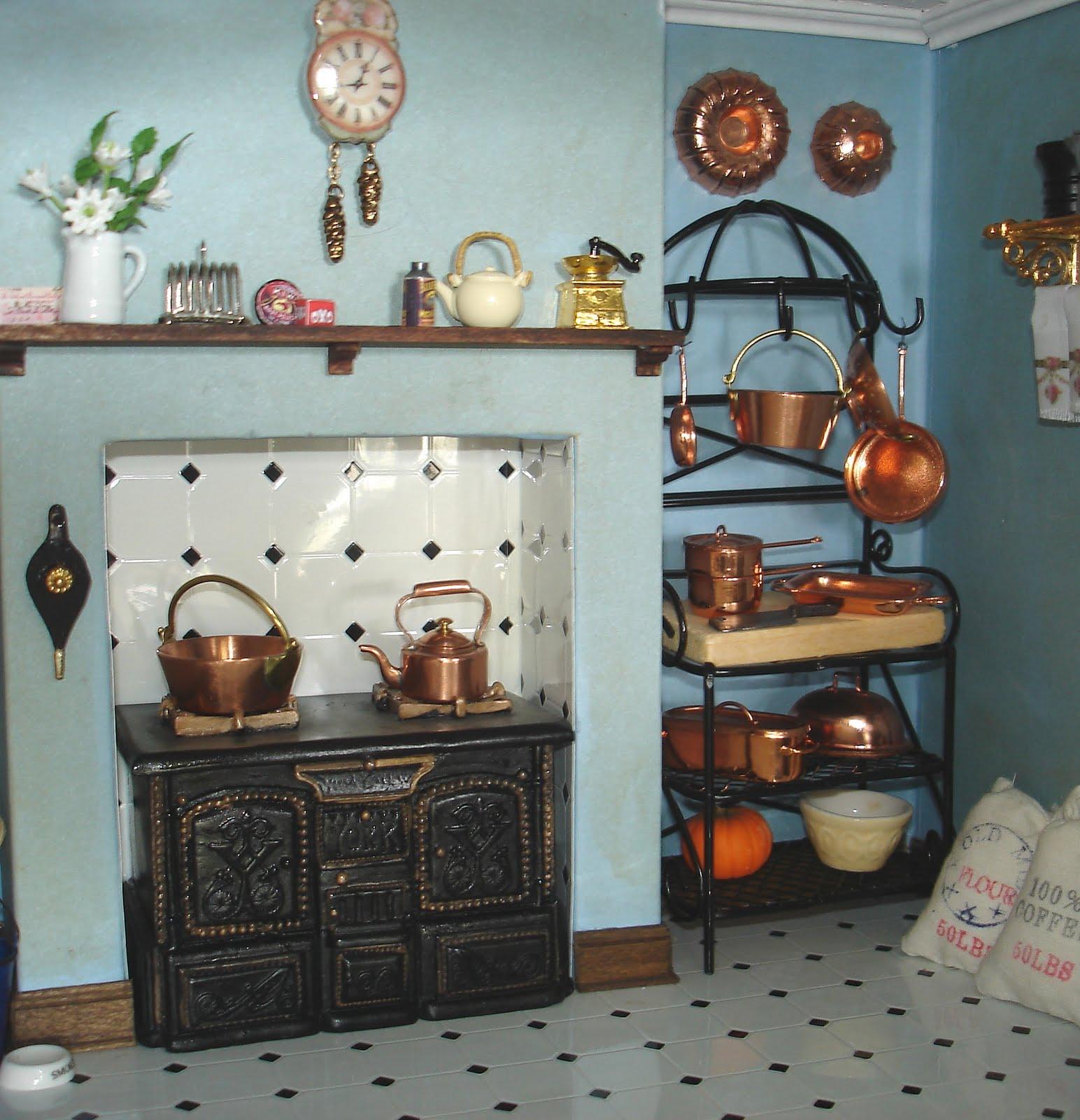 Dolls House Kitchen Furniture Carolyns Little Kitchen My First Dollshouse