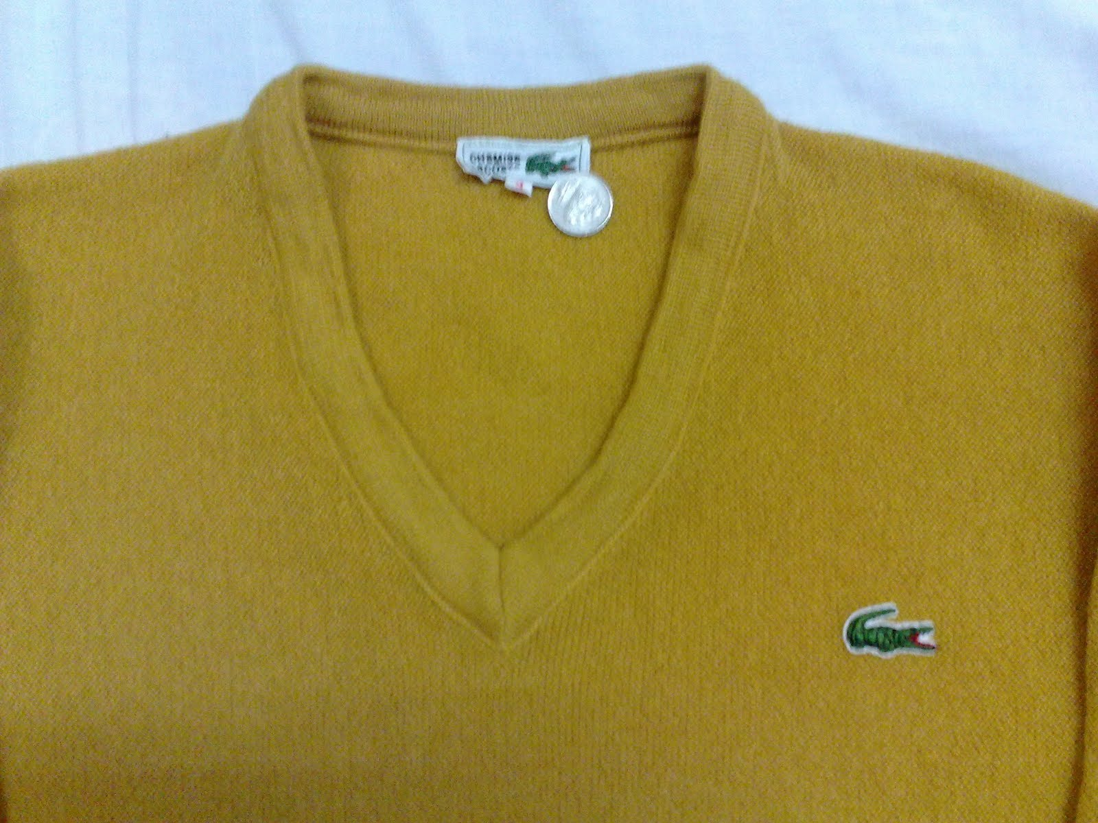 Vintage Lacoste Cardigan Cardigans Jumper Size 3 M condition 9 10