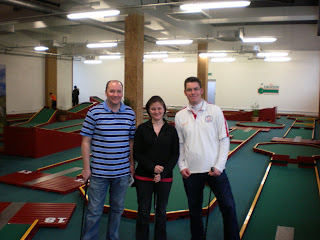 The Green Indoor Mini Golf course in Hither Green, London