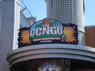 The Congo Indoor Adventure Golf at Codona's Amusement Park in Aberdeen