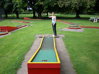 Crazy Golf in Oxford