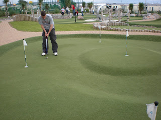 Mini Golf at Trecco Caravan Park in Porthcawl