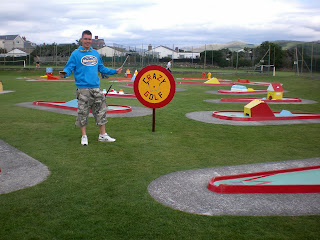 Crazy Golf at Tywyn Leisure Park
