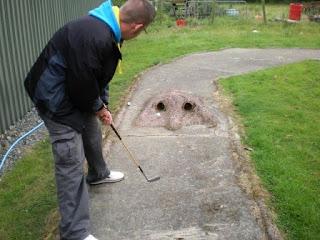 Crazy Golf at Henblas Park