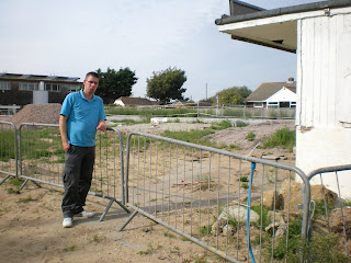Richard Gottfried at the old Arnold Palmer Crazy Golf in Camber Sands
