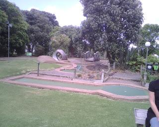 Lilliputt Mini Golf course in Auckland, New Zealand