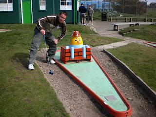 Crazy Golf in Lytham St Annes