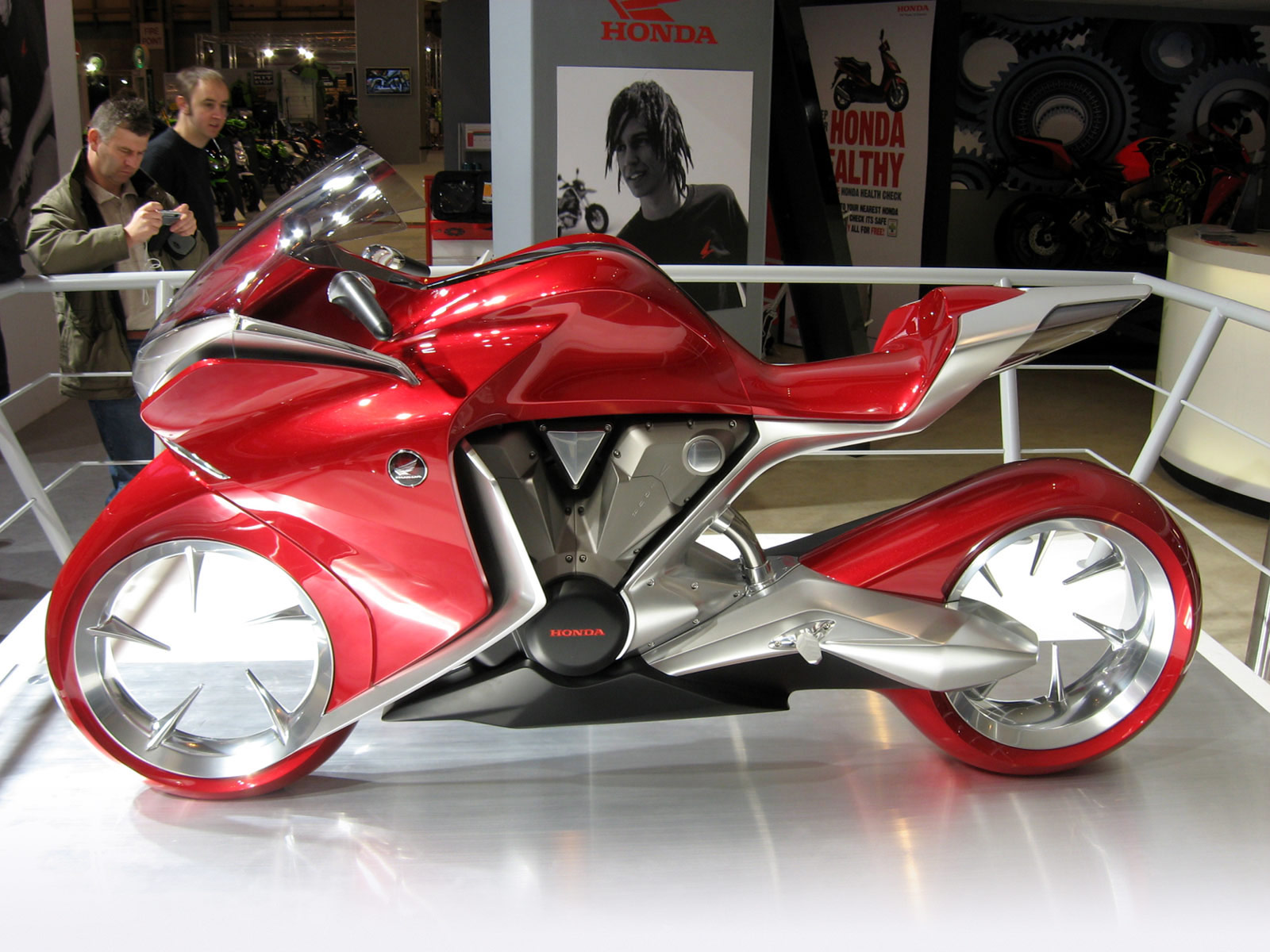 Accident lawyers info. 2009 HONDA V4 Concept wallpaper