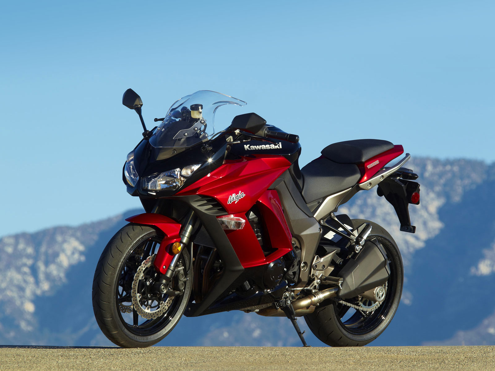 Motorcycle Big Bike Kawasaki Ninja 1000 2011