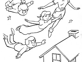 Peter Pan Captain Hook Coloring Pages