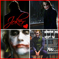 Wanna be next to you.. Joker