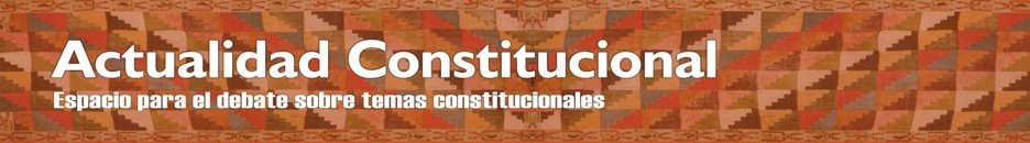 Actualidad Constitucional