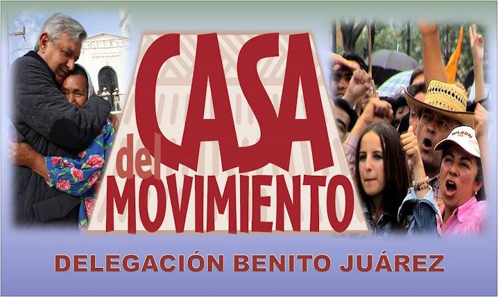 Casa del Movimiento, Delegación  Benito Juárez
