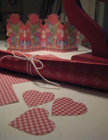 Jertene ligger på bordet og bare venter på å bli til julefin