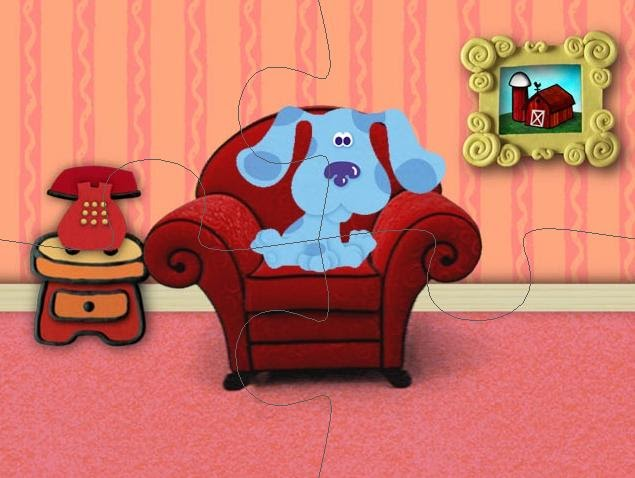 Kids Cartoon Gallery Blues Clues Thinking Chair