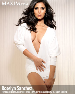 Roselyn Sanchez Maxim Photos. las 100 mas sexys segun maxim