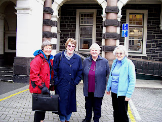 Judy, Jane, Ann and Gillian.