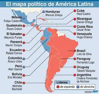 ¿Invasión militar Imperialista en Venezuela? Mapa_politico_de_america_latina