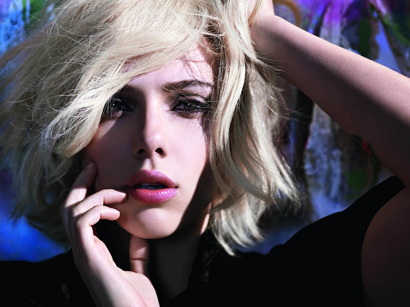 Scarlett Johansson Photoshoot For Mango Clothing