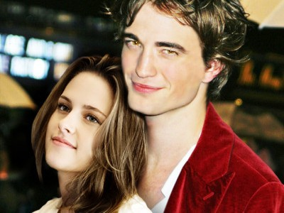 kristen stewart y robert pattinson. robert pattinson y kristen