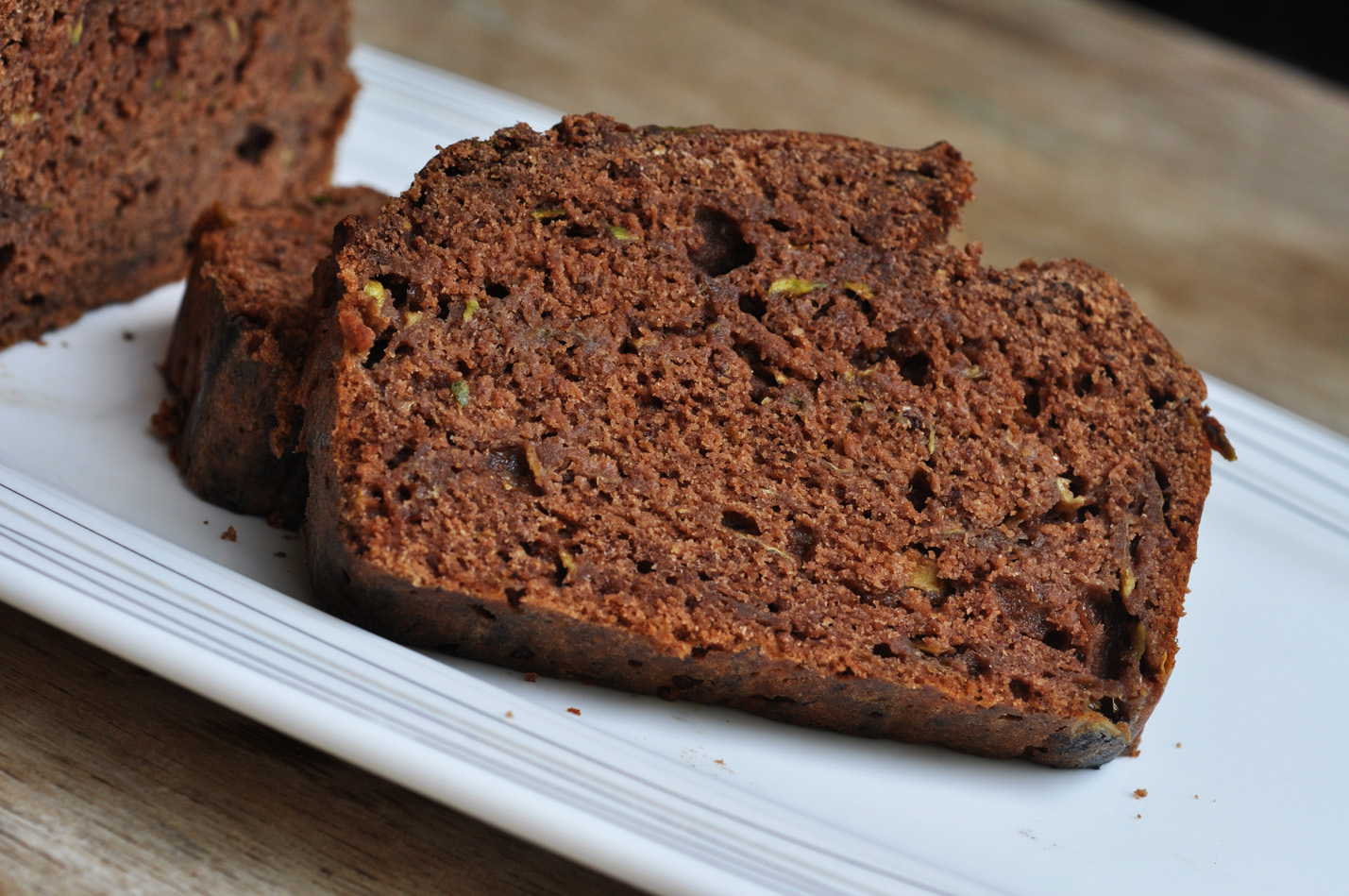 Am I crazy about zucchini breads or what? Ever since I started baking ...