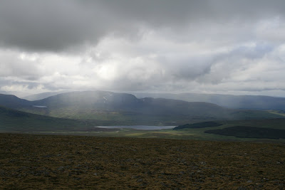 Loch Pattack from Beinn Udlamain